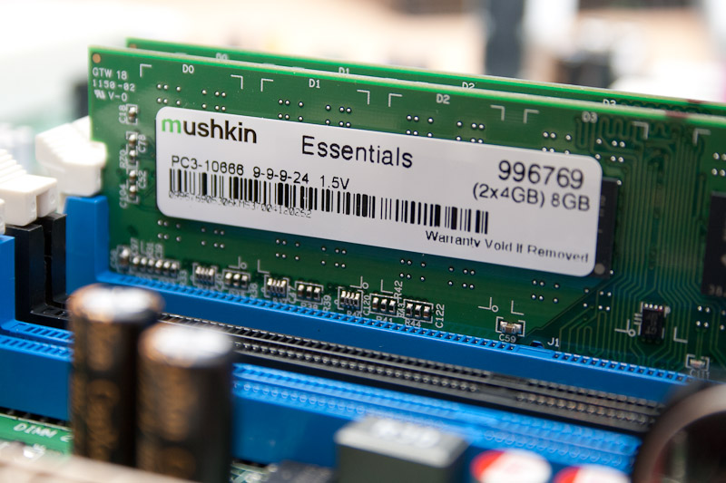 Mushkin Essentials DDR3-1333